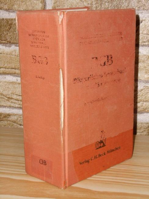 Jauernig, Othmar (Hrsg.): Bürgerliches Gesetzbuch. hrsg. von Othmar Jauernig. Erl. von Othmar Jauernig ... 2., neubearb. Aufl.