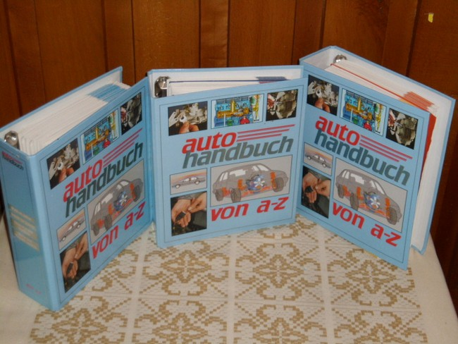 Autohandbuch von A bis Z (in drei Ordnern)