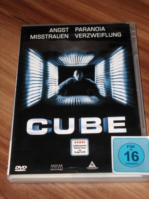 Maurice Dean Wint: Cube (DVD)