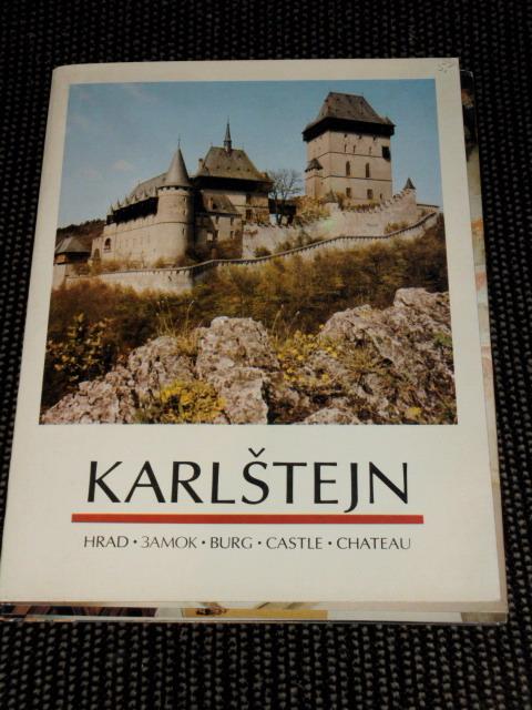 Karlstejn - Burg Karlstejn – 15 Fotokarten mit Beschreibung auf Rückseite