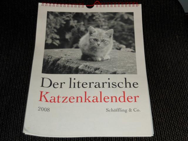 Der literarische Katzenkalender 2008.
