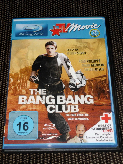 The Bang Bang Club, BLU-RAY TV-MOVIE EDITION 04-14