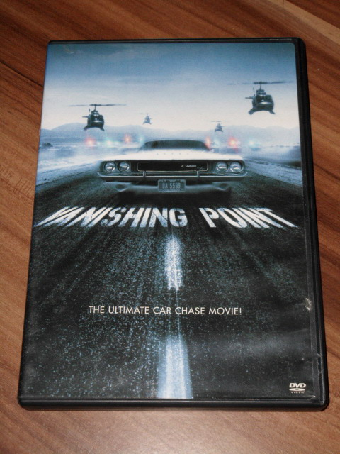 Newman, Barry: Vanishing Point [US-Import, DVD]