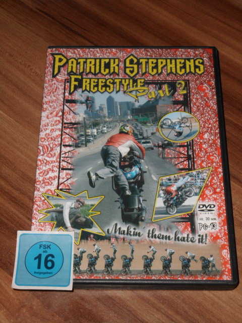 Patrick Stephens Freestyle Part 2, [DVD]