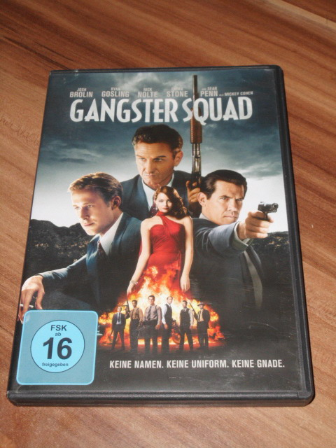 Gangster Squad, [DVD]