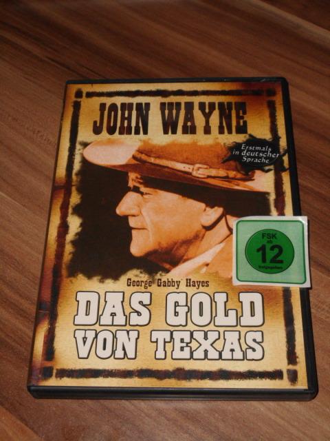 Das Gold von Texas, [DVD]