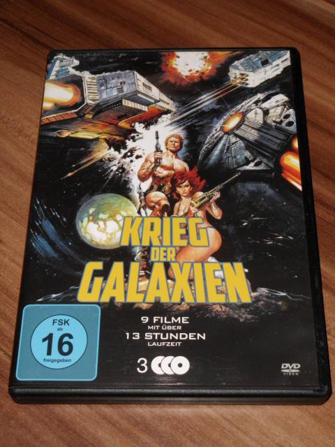 Krieg der Galaxien (9 Filme auf 3 DVDs)