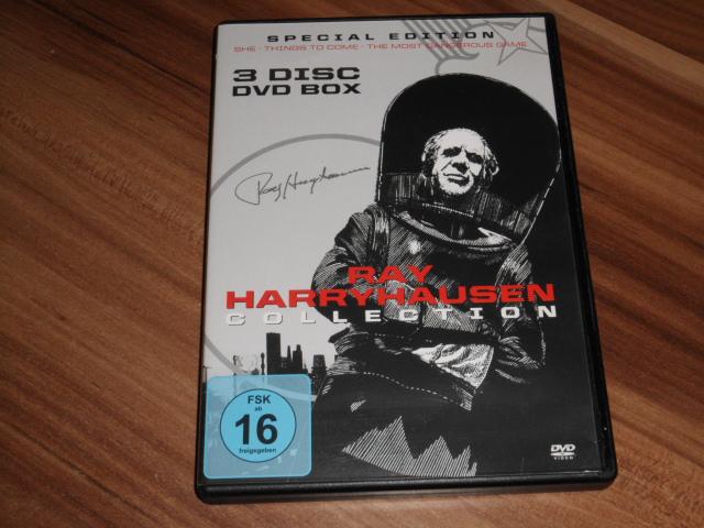 Ray Harryhausen Limited Collection (3 Filme DVD Box ) [Special Edition] Auflage: Limited Special Edition