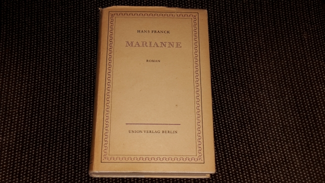 Marianne : Goethe-Roman.