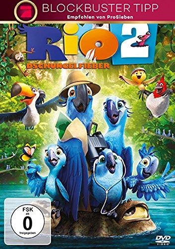 Rio 2 - Dschungelfieber, [DVD]