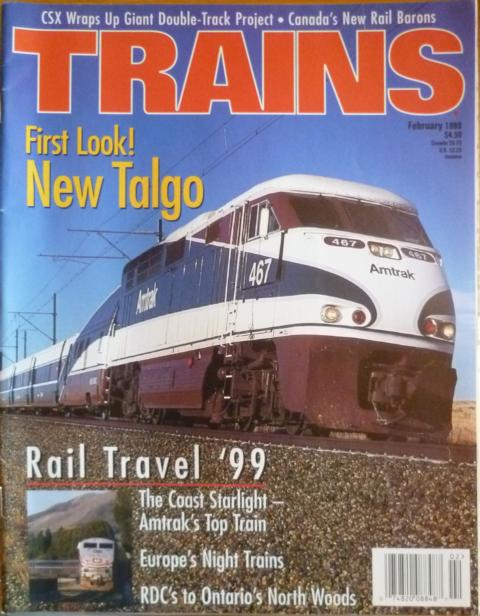 Trains -  February 1999 First Look! New Talgo
