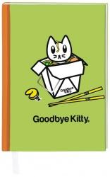 """Notizbuch """"Goodbye Kitty"""" Take away"""