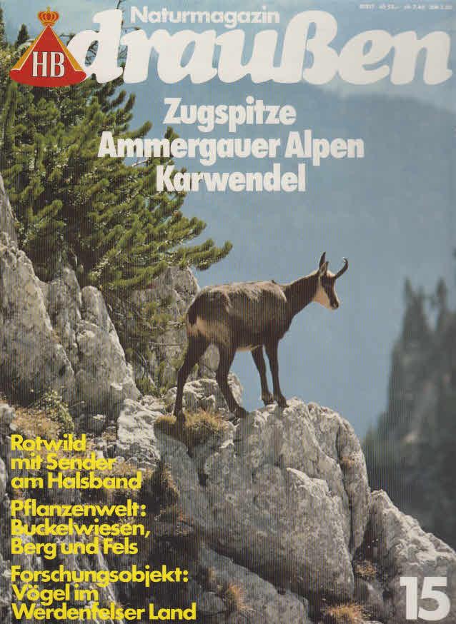 Zugspitze, Ammergauer Alpen, Karwendel.