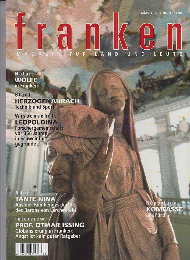 Weissbach, Wolf-Dietrich und Stefan (Hrs.) Kendel: Franken - Magazin für Land und Leute März/April 2008