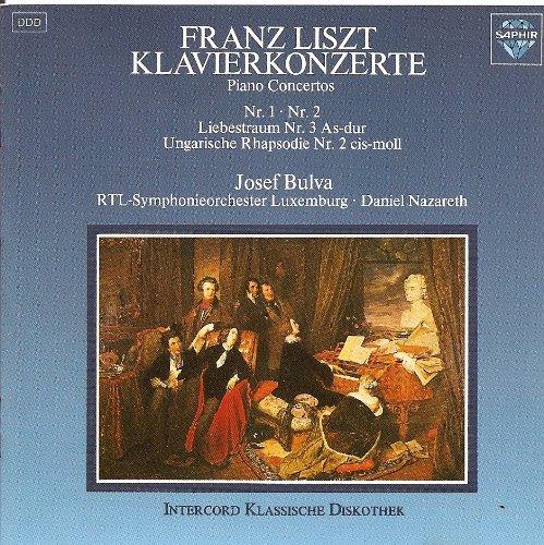 FRANZ LISZT KLAVIERKONZERTE__PIANO CONCERTOS