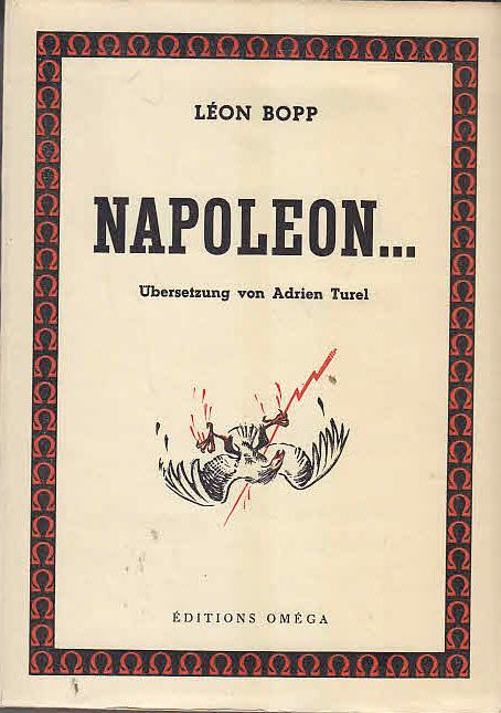 Napoleon. Übersetzung von Adrian Turel.