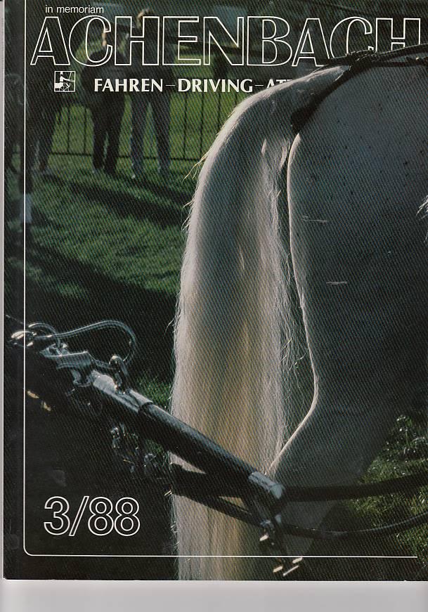 kelle, Heidi und Karl Iseli: im memoriam Achenbach 3/88