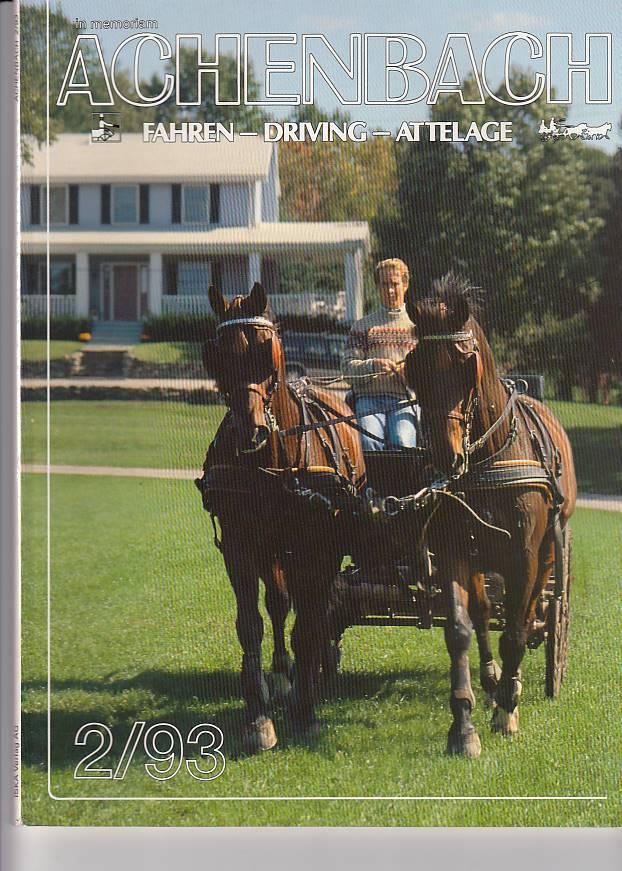 kelle, Heidi und Karl Iseli: im memoriam Achenbach 1/93