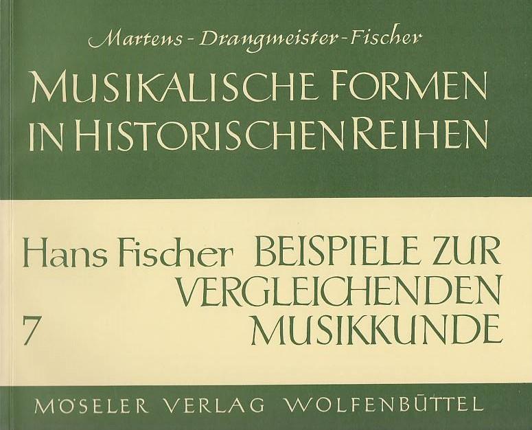 Beispiele zur vergleichenden Musikkunde