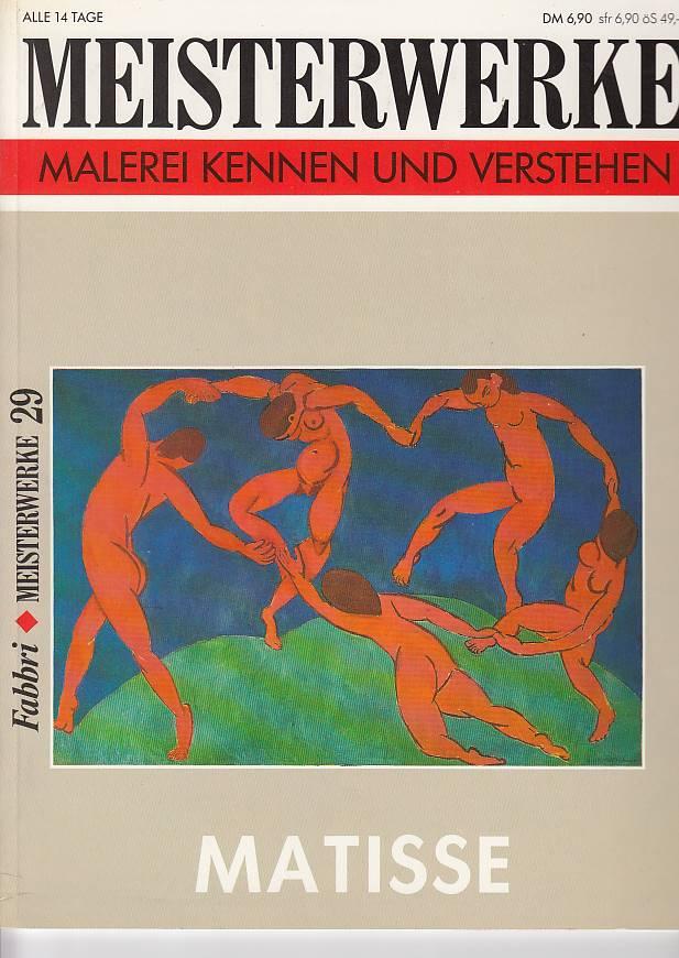 Meisterwerke Matisse Malerei kennen und verstehen Meisterwerke 29