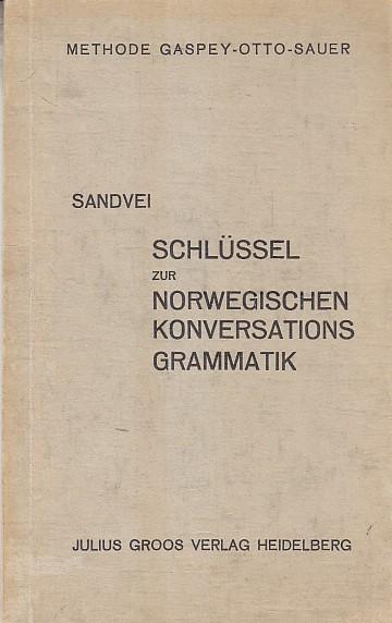 Schlüssel zur norwegischen Konversationsgrammatik.