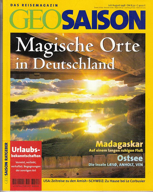Geo Saison Magische Orte in Deutschland