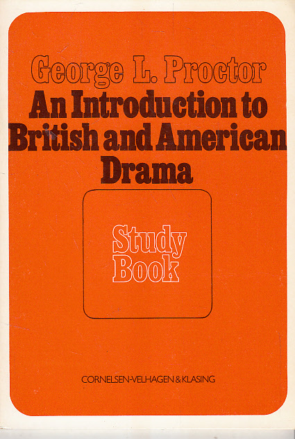 An introduction to British and American drama