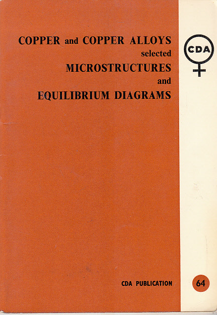 COPPER AND COPPER ALLOYS SELECTED MICROSTRUCTURES AND EQUILIBRIUM DIAGRAMS: INTRODUCTORY NOTES FOR THE USE OF STUDENTS.