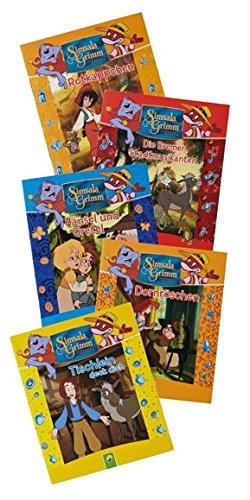 Simsala Grimm - 5 Kinder-Minibücher Set 1 - Märchen fairy tales Auflage: Set 1
