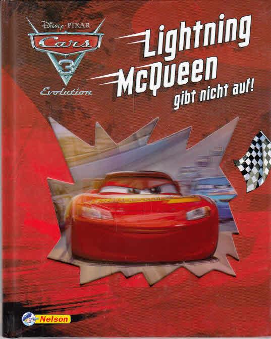 Cars 3 Evolution: Lightning McQueen gibt nicht auf!. deutsche Textfassung: Tina Fjorde / In Beziehung stehende Ressource: ISBN: 9783845107752; In Beziehung stehende Ressource: ISBN: 9783845107868; In Beziehung stehende Ressource: ISBN: 9783845107783; In Beziehung stehende Ressource: ISBN: 9783845107899; In Beziehung stehende Ressource: ISBN: 97838451