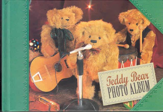 Teddy Bear Photo Album green grün