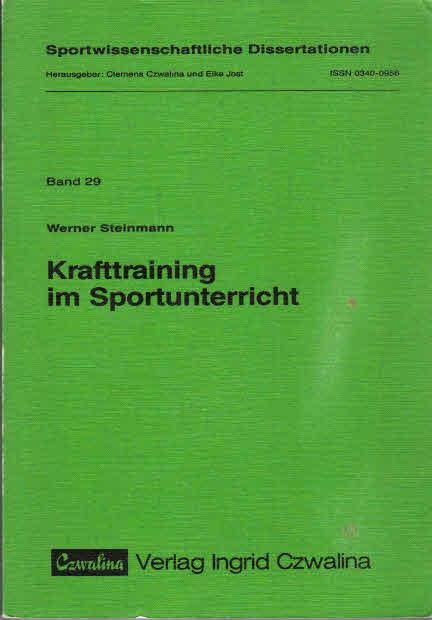 Krafttraining im Sportunterricht