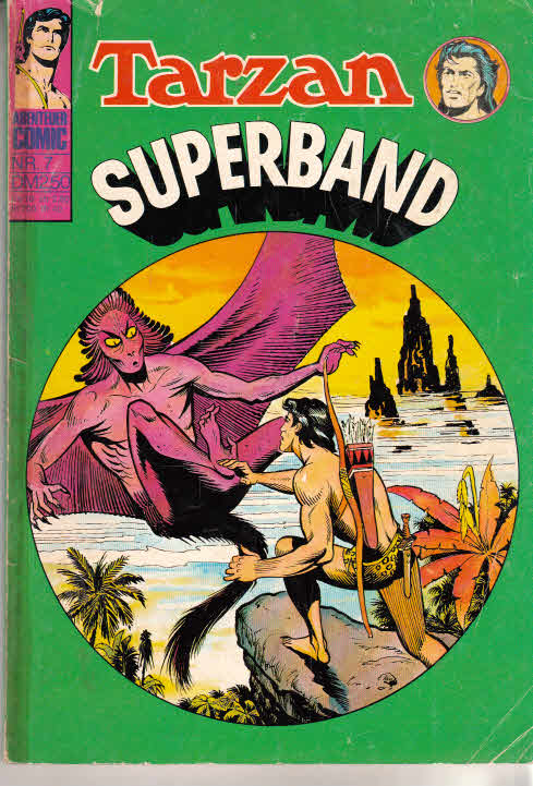 TARZAN-SUPERBAND (Williams-Sammelband) Nr. 7, (Tarzan BSV 190, 191, KORAK 93, 97)