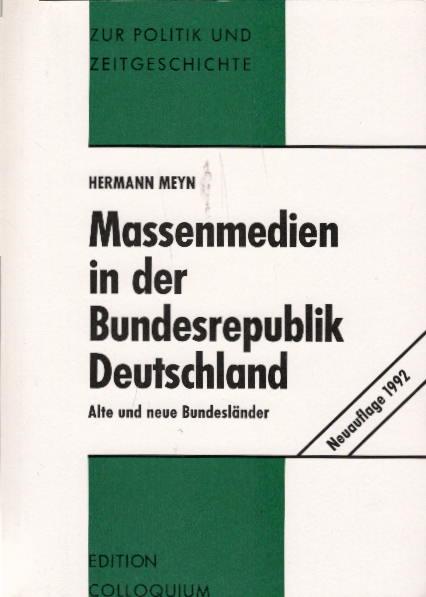 Massenmedien in der Bundesrepublik Deutschland