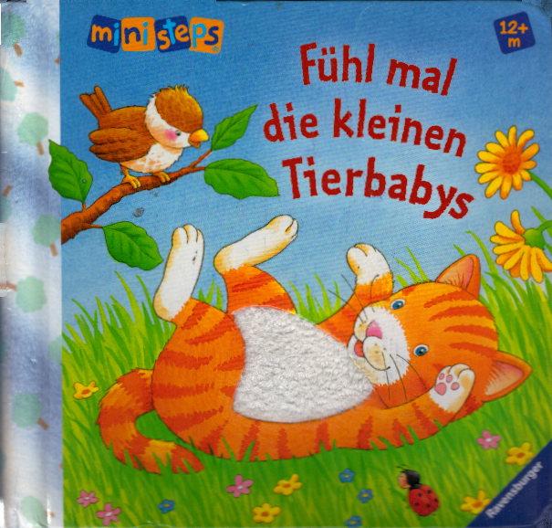 Ravensburger 04018 Fühl mal die kleinen Tierbabys