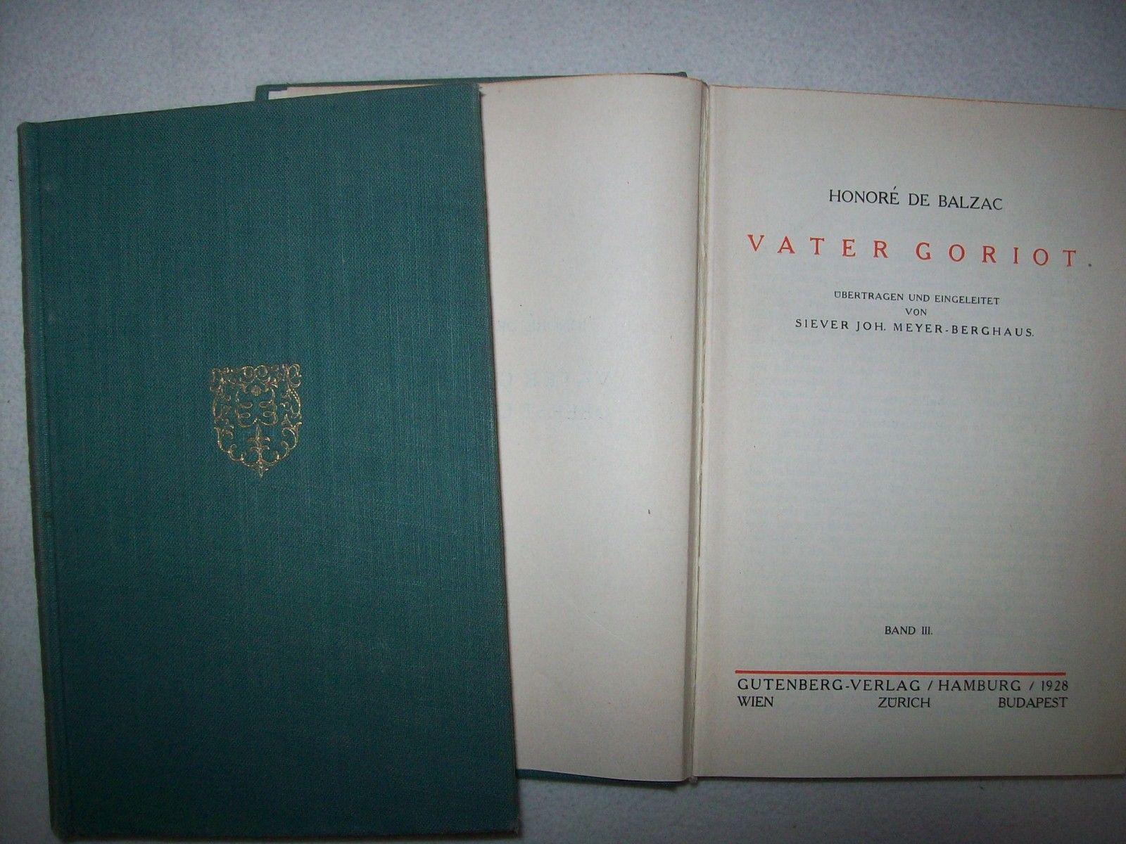 """2 Bücher von Honoré de Balzac"""