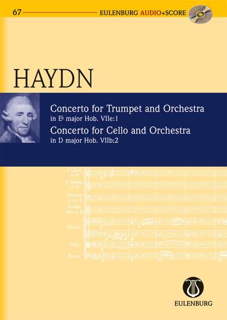 Konzert  Es-Dur / Konzert D-Dur Hob. VIIe: 1; Hob. VIIb: 2 (Serie: Eulenburg Audio+Score) Studienpartitur + CD - Haydn, Joseph; Redlich, Hans Ferdinand / Schönzeler, Hans-Hubert (Hrsg.)