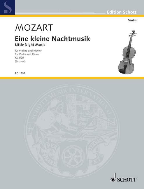 Eine kleine Nachtmusik KV 525 - Mozart, Wolfgang Amadeus; Larssen, C. O. (Hrsg.)