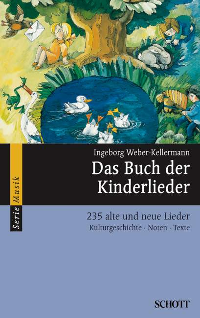 Das Buch der Kinderlieder 235 alte und neue Lieder, (Serie: Serie Musik) Melodie-Ausgabe (mit Akkorden) - Weber-Kellermann, Ingeborg (Hrsg.); Schallehn, Hilger / Schmitz, Manfred (Bearb.)