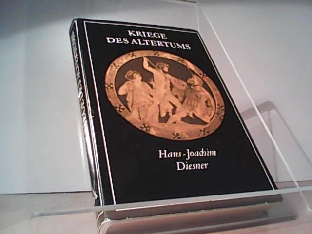 Kriege des Altertums. Griechenland und Rom im Kampf um den Mittelmeerraum  4. Aufl., - Diesner, Hans-Joachim