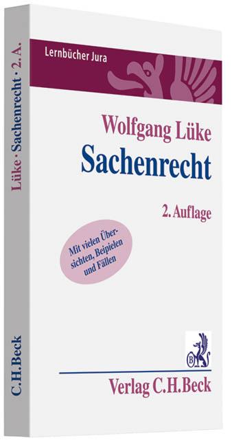 Sachenrecht von Wolfgang Lüke  Auflage: 2. - Wolfgang Lüke