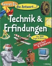 Kennst du die Antwort? Technik und Erfindungen Set mit Buch und Spielkarten
