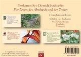 Für Zeiten des Abschieds und der Trauer : Textkarten-Set: 6 Doppelkarten mit Kuverts.