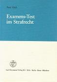 Examens-Test im Strafrecht.