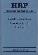 Grundbuchrecht. Handbuch der Rechtspraxis Bd. 4
