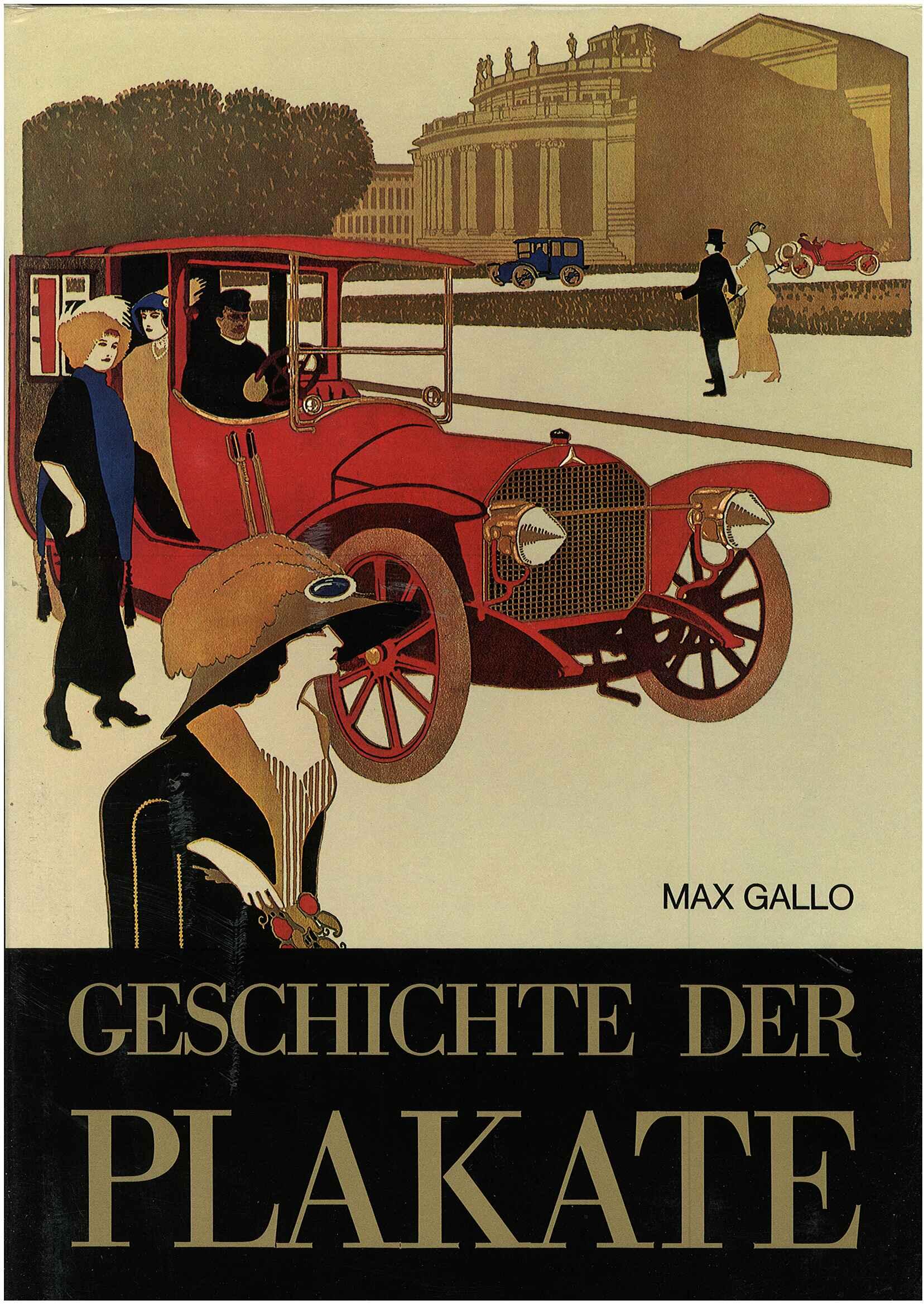 Geschichte der Plakate.