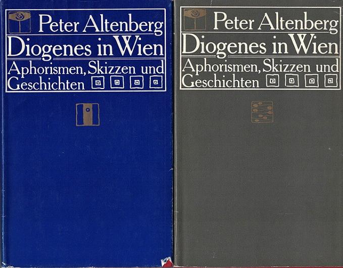 Diogenes in Wien : Aphorismen, Skizzen u. Geschichten Band 1 und 2