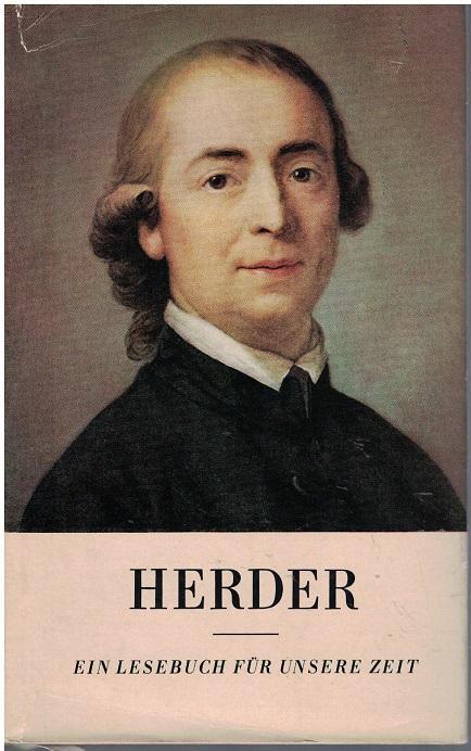 Herder : ein Lesebuch für unsere Zeit. 8. Aufl.