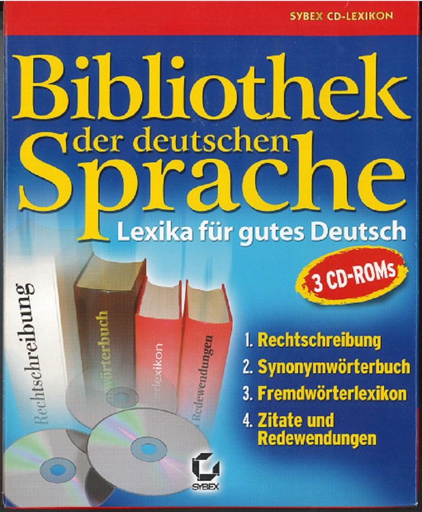 Bibliothek der deutschen Sprache. Lexika für gutes Deutsch.
