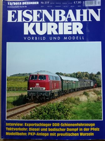 Eisenbahn Kurier, Heft 12/2015
